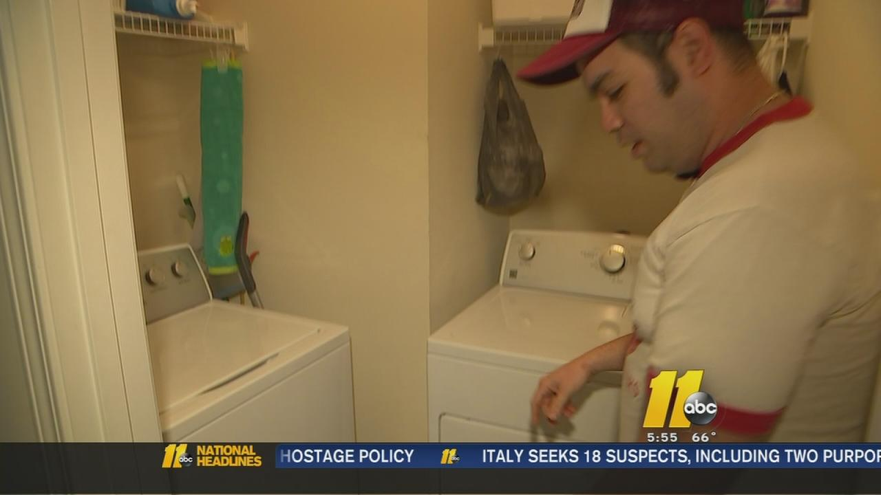 Home owner left with massive repair bill after washing machine leaks