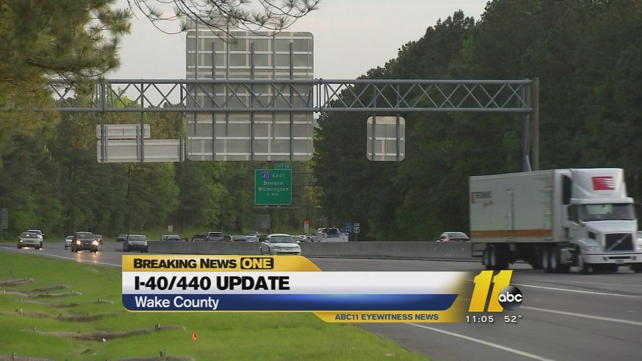 I-40/440 construction