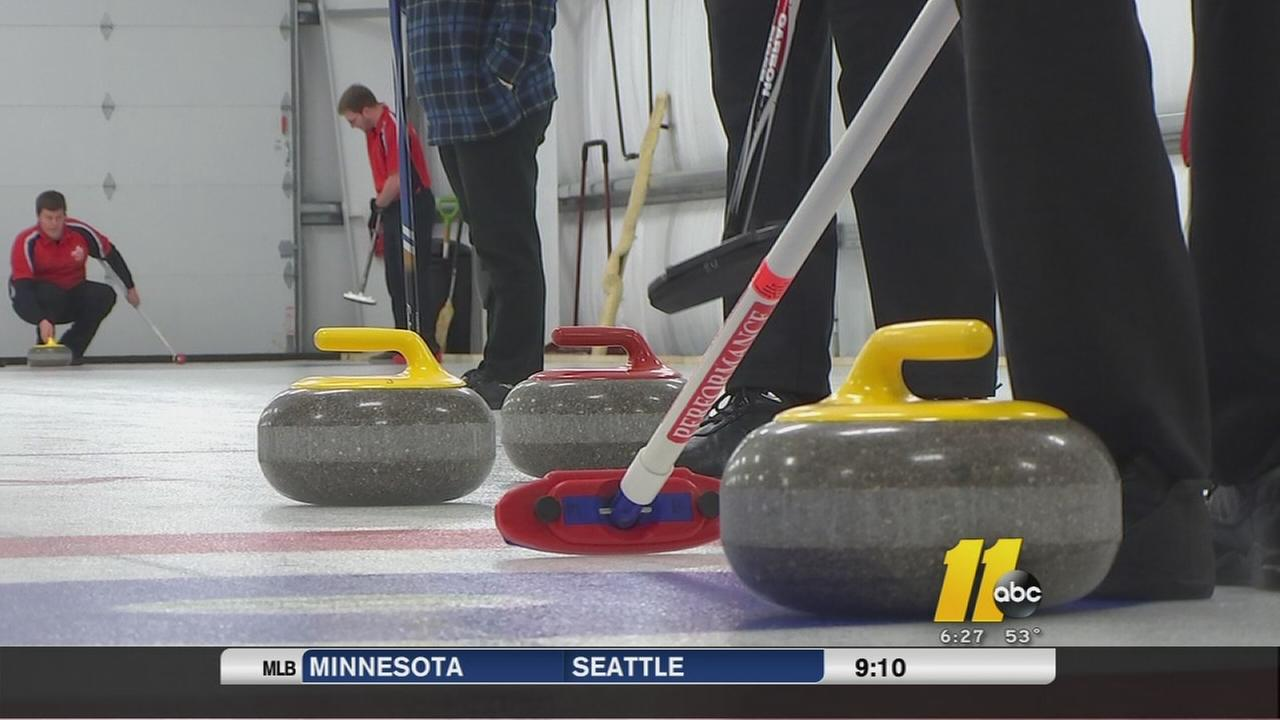 Curling club comes to the Triangle