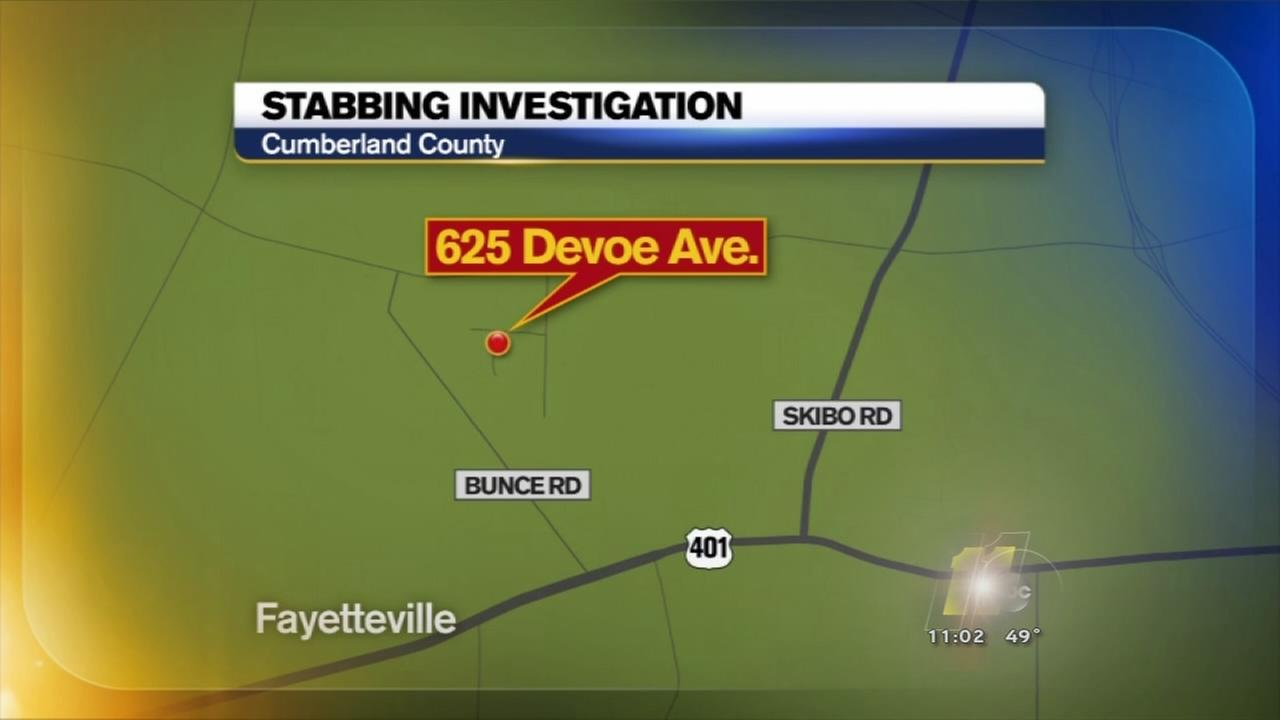 Stabbing investigation in Fayetteville