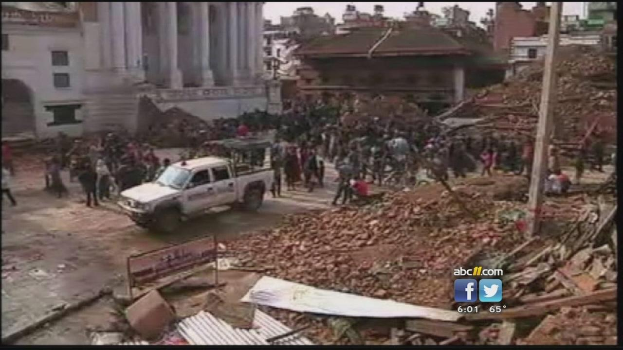 Local groups raising money to help earthquake victims