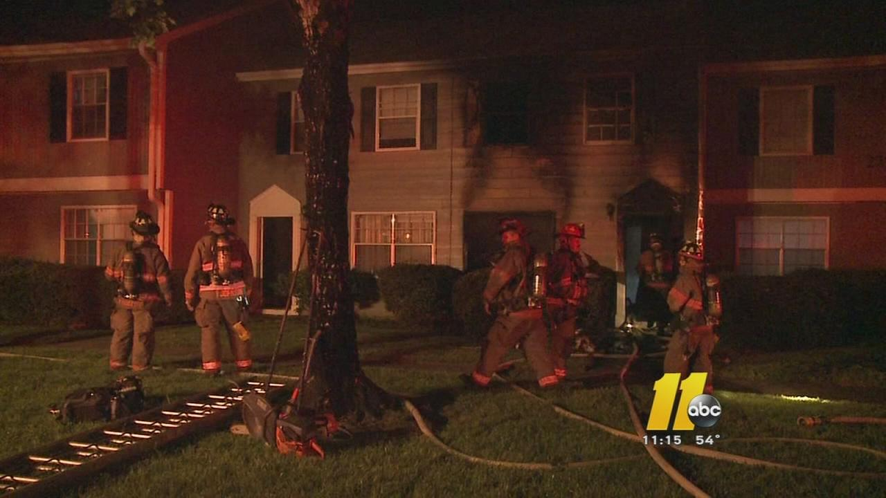 Durham apartment fire