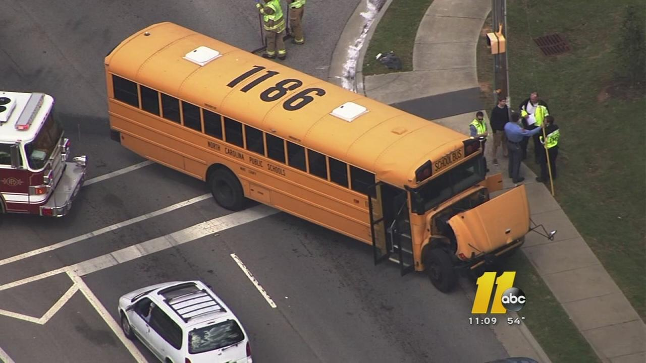 Parent: Lack of communication following school bus crash