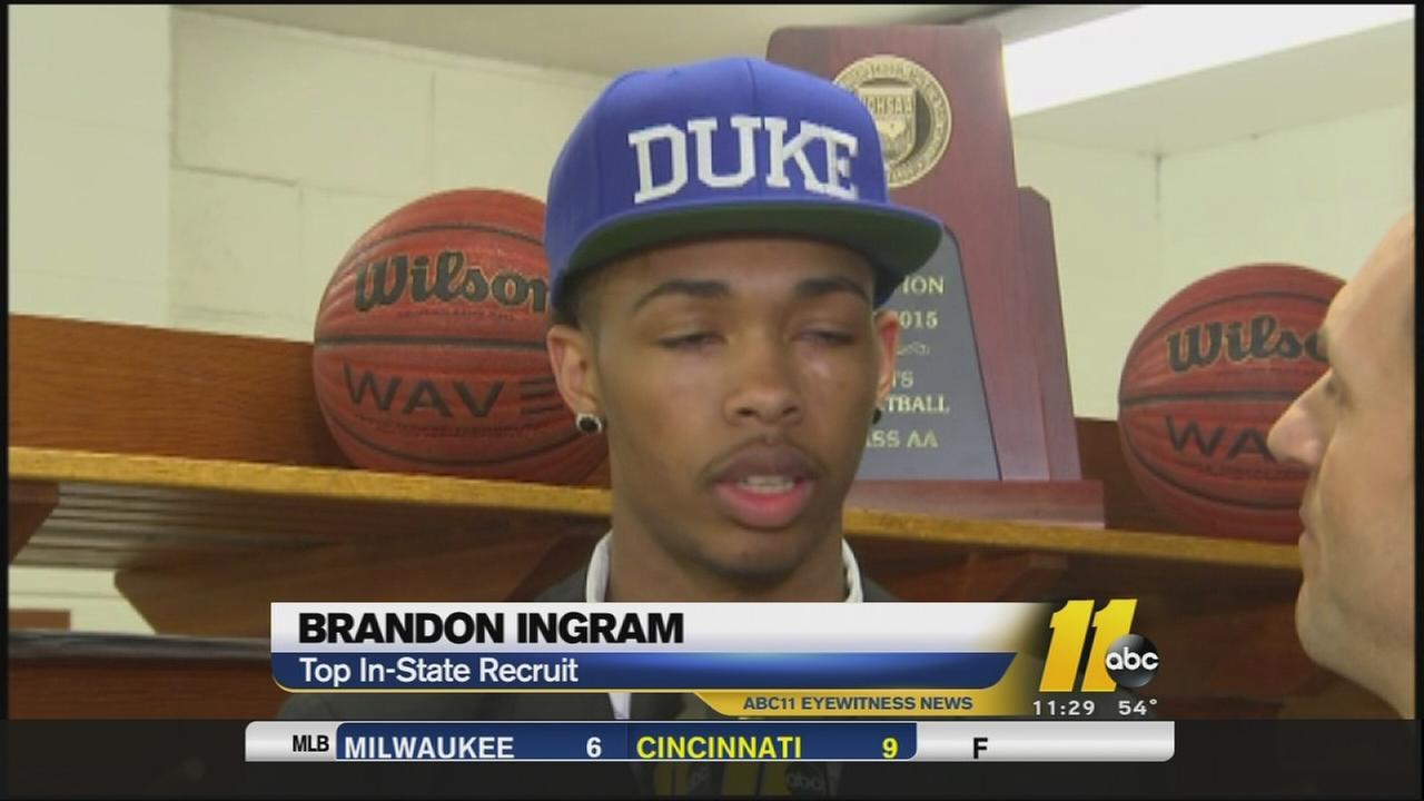 Ingram stays close to home, picks reigning champ Duke