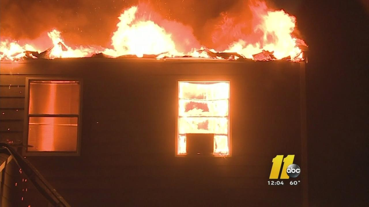 Durham apartment building catches on fire twice