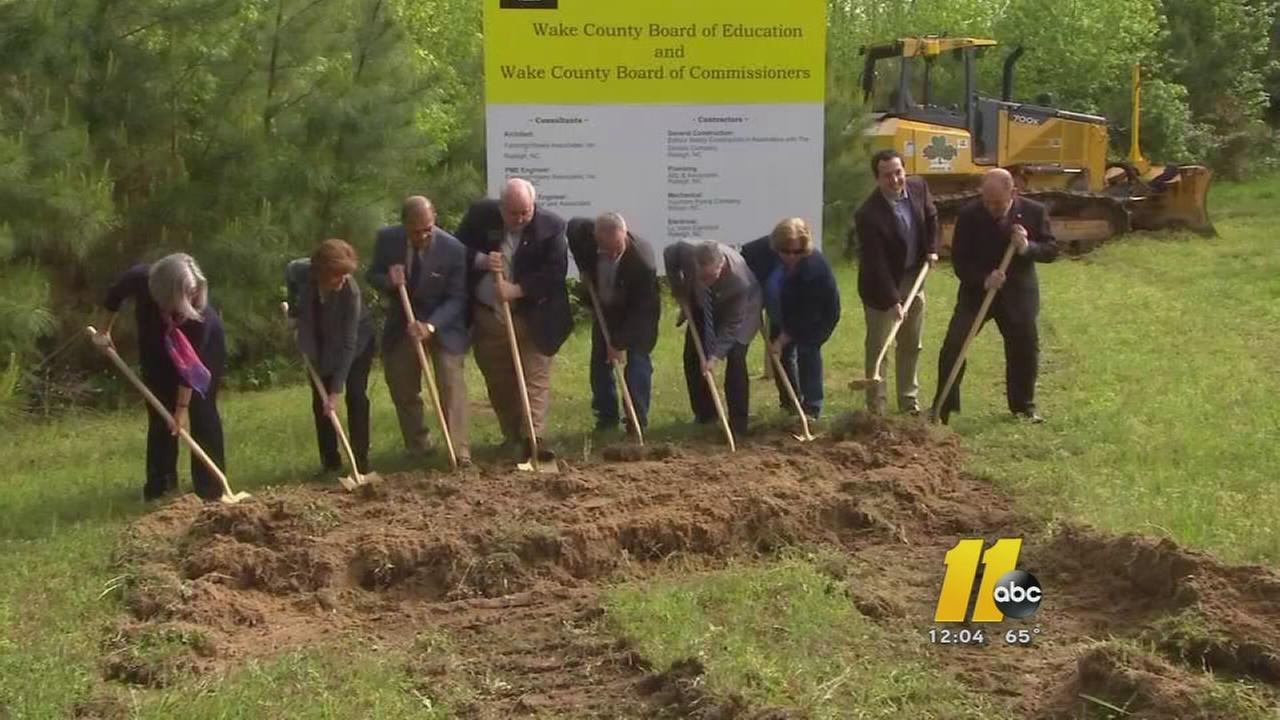 Wake County breaks ground on new high school