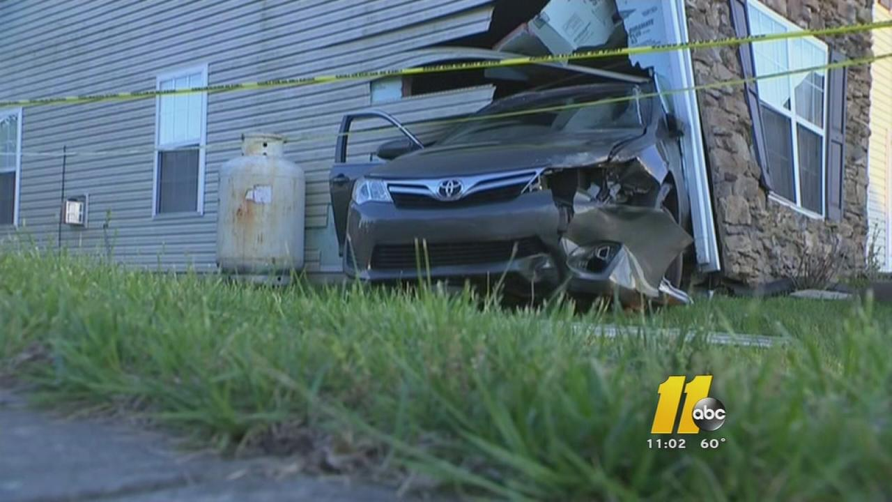 Car into house in Durham