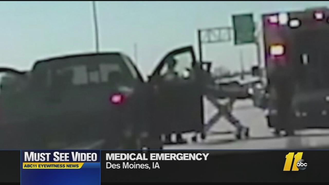 Must-See Videos: Trooper helps heart attack victim