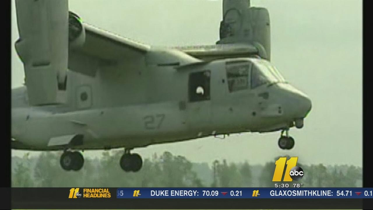 Local congressman fights for truth about Osprey crash in 2000