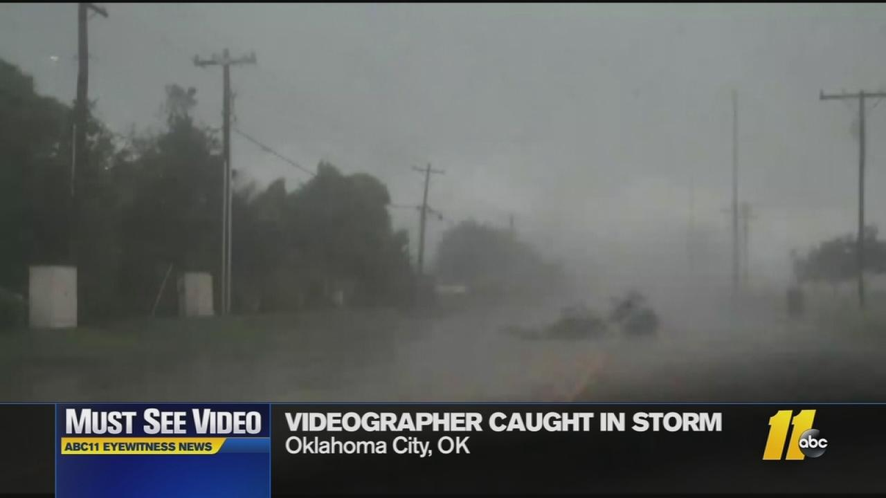 Must-See Videos: Photographer caught in storm