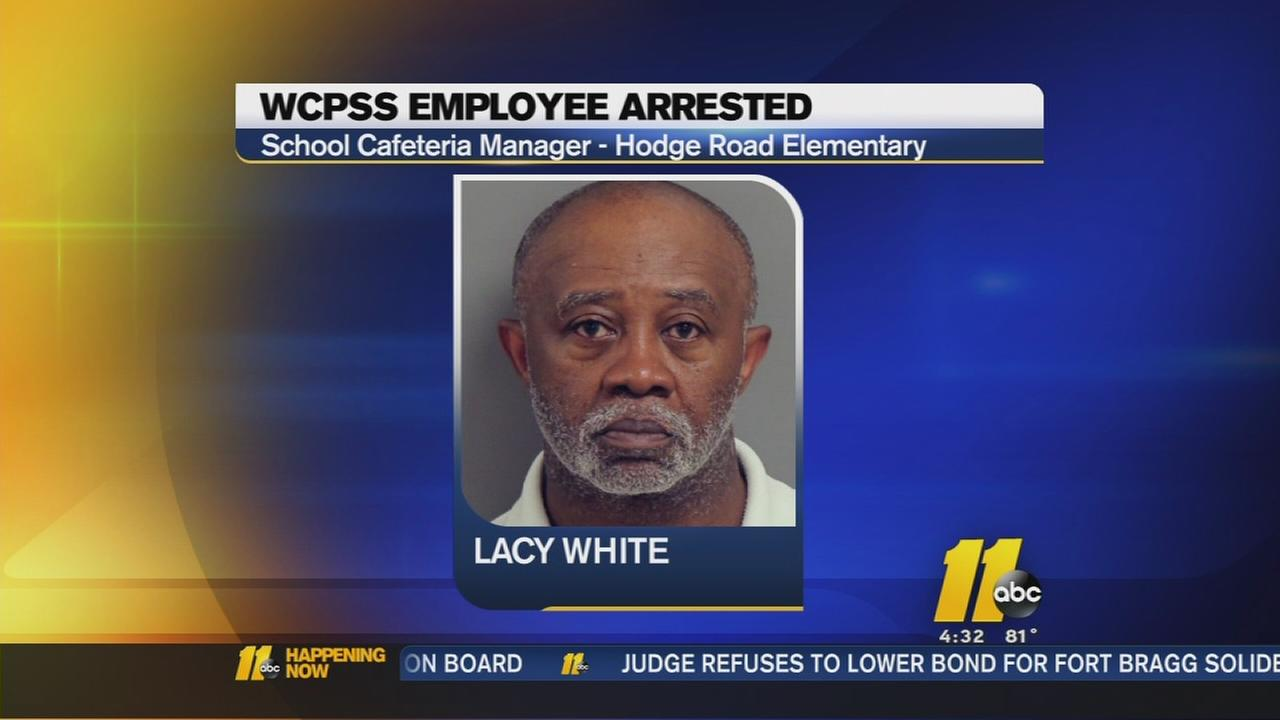 WCPSS employee arrested for cocaine