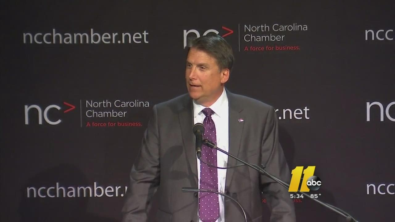 McCrory wants incentive caps lifted