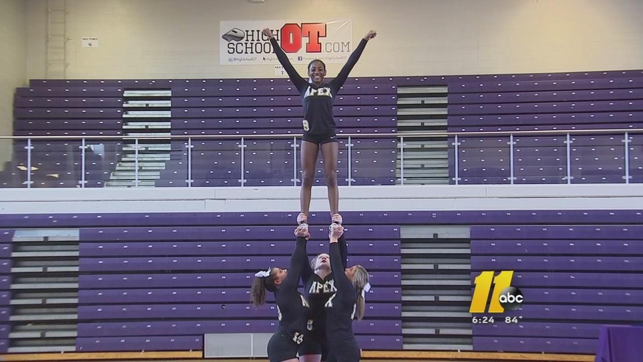 Stunt comes to Apex
