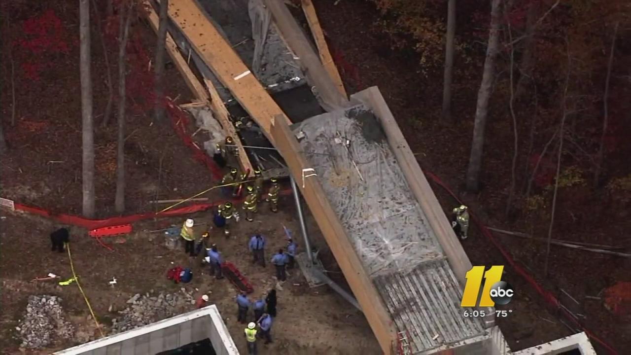 Design flaws blamed for Wake Tech fatal bridge collapse