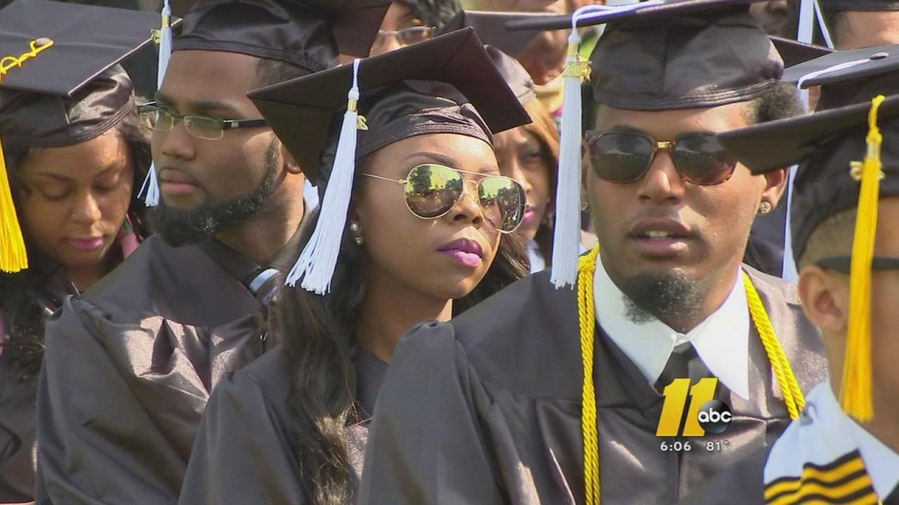 Class of 2015 graduates from St. Augustines University