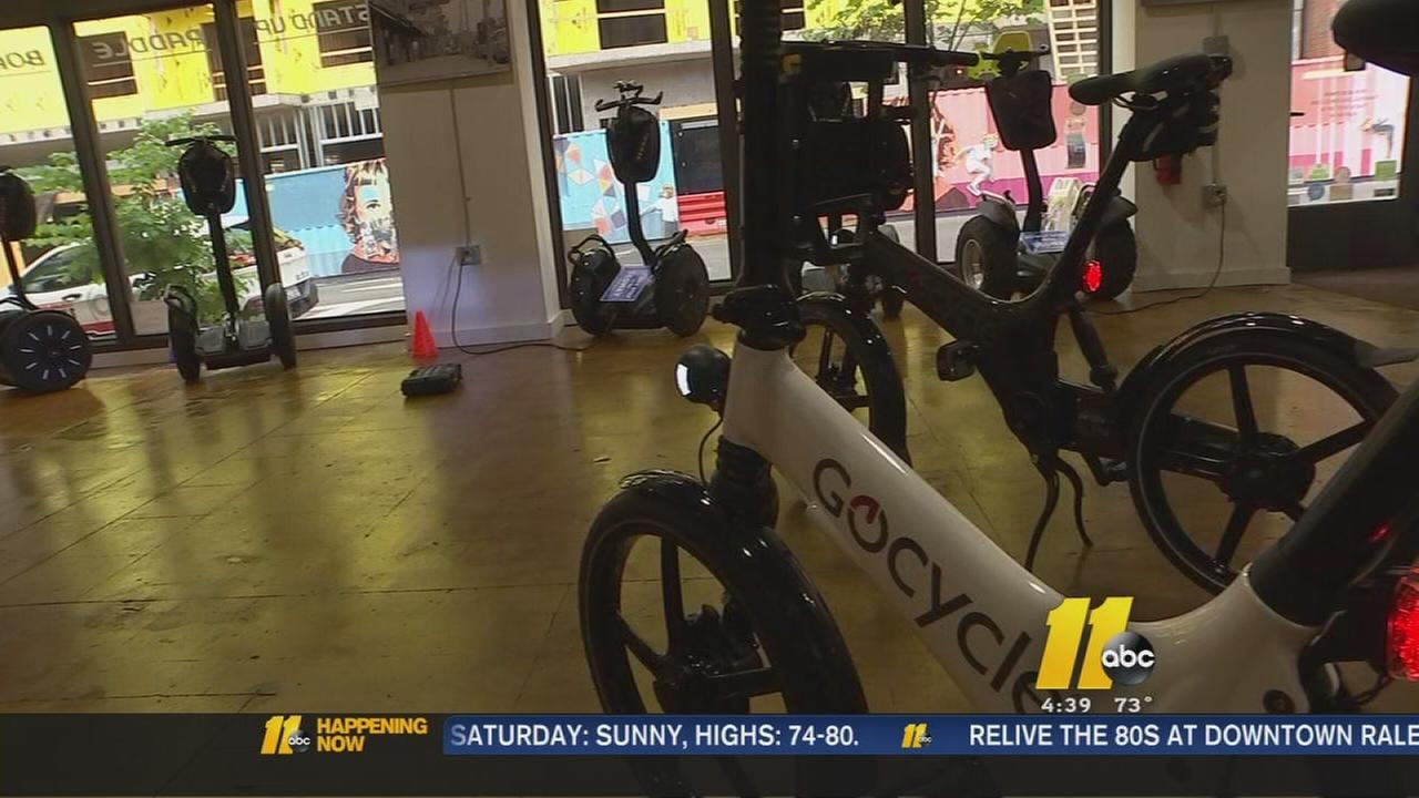 Electric bike tour begins in Raleigh