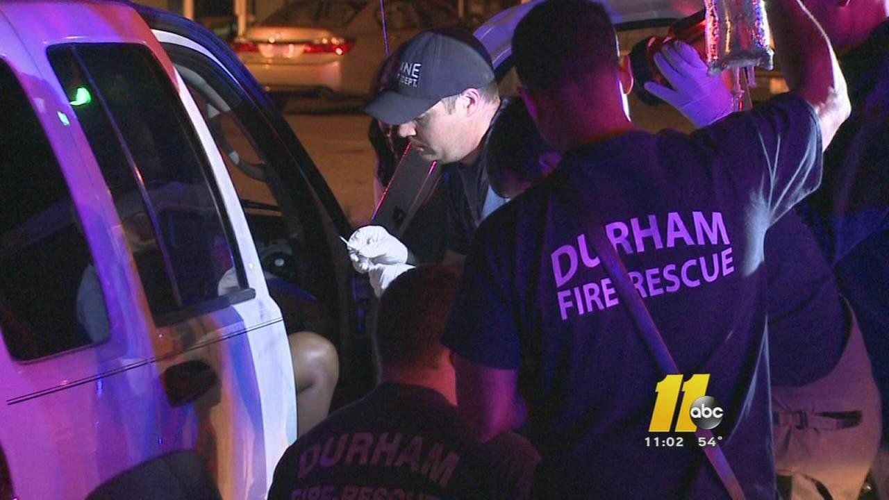 Woman wounded by gunfire in Durham