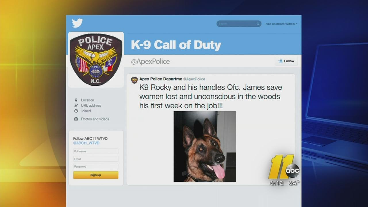 K-9 saves missing woman