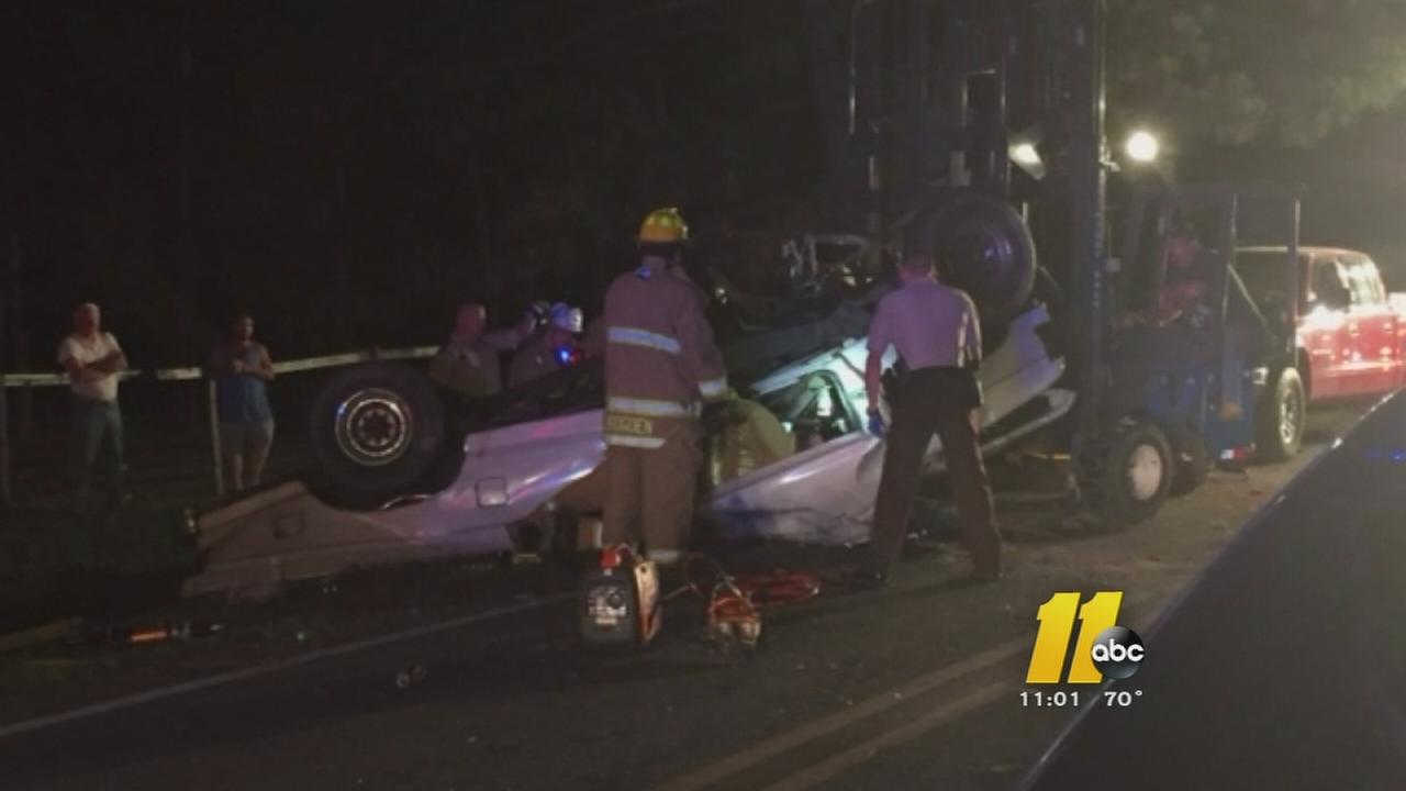 Man seriously hurt in Johnston County crash
