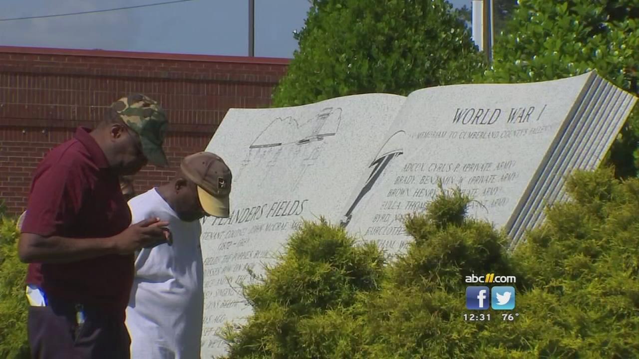 Fayetteville honors fallen service members