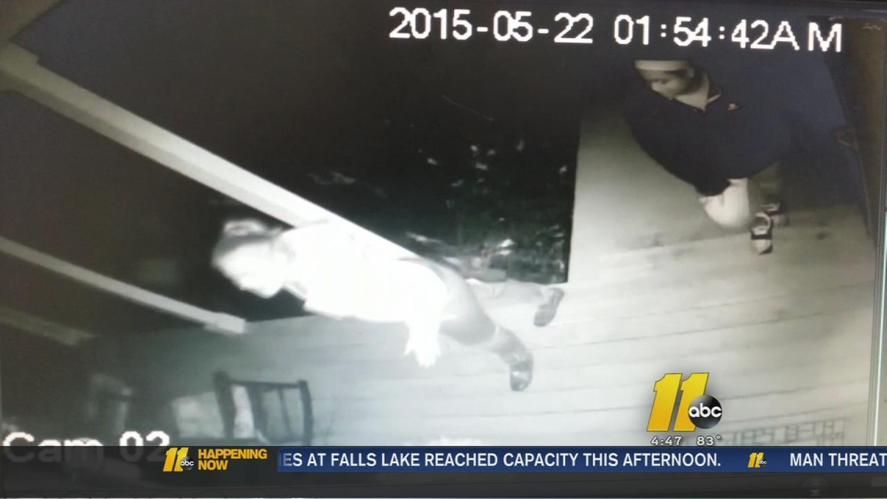 Family says video shows porch thieves