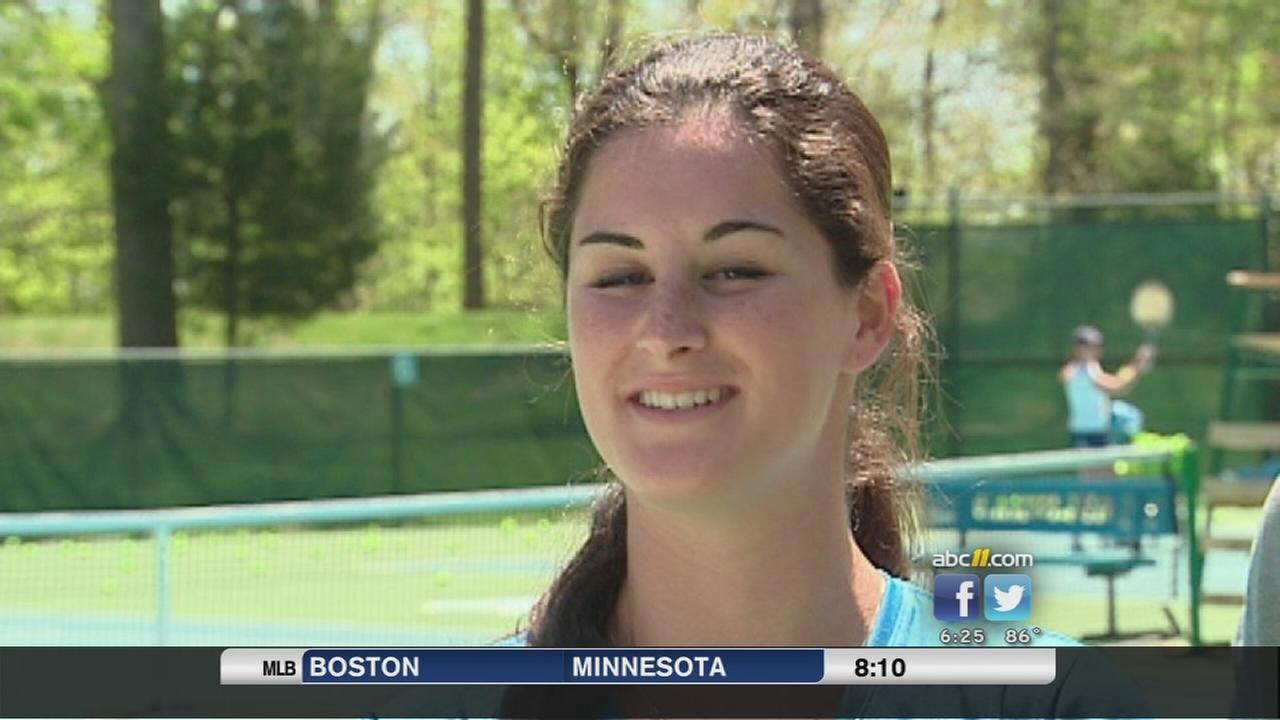 Jamie Loeb of North Carolina is NCAA tennis champ