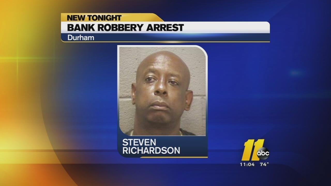 SECU robbery arrest