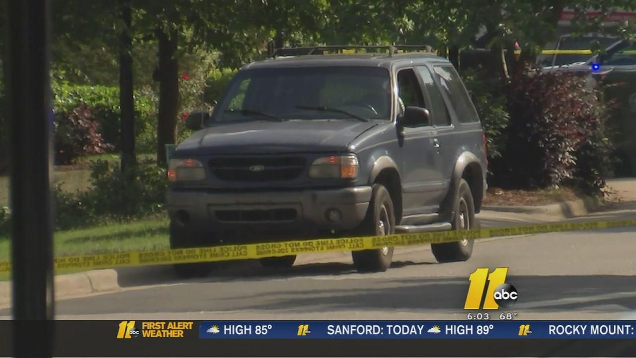 Explosive device detonated in SUV