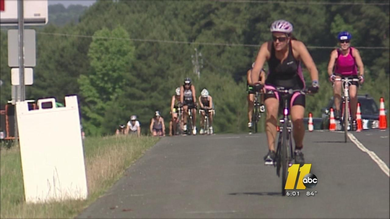 Raleigh prepares for Ironman