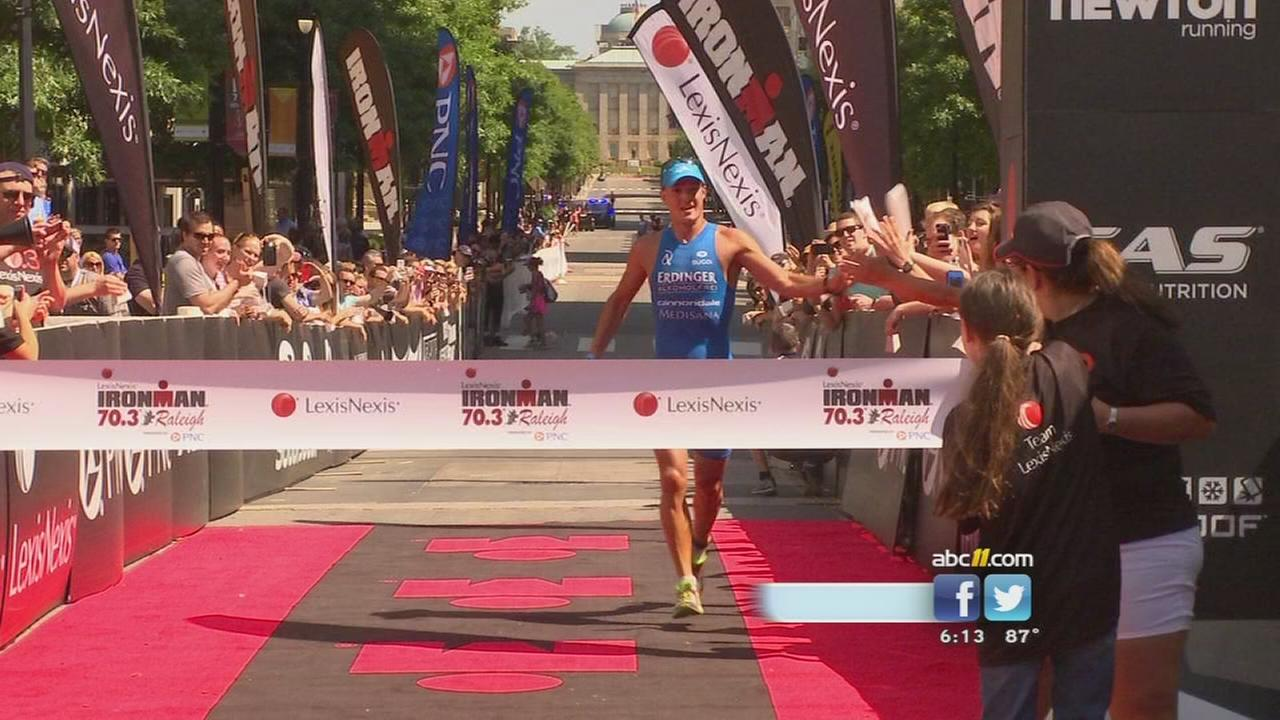 Thousands flock to Raleigh for Ironman
