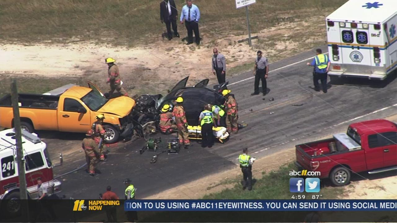 Chase leads to crash outside of Youngsville