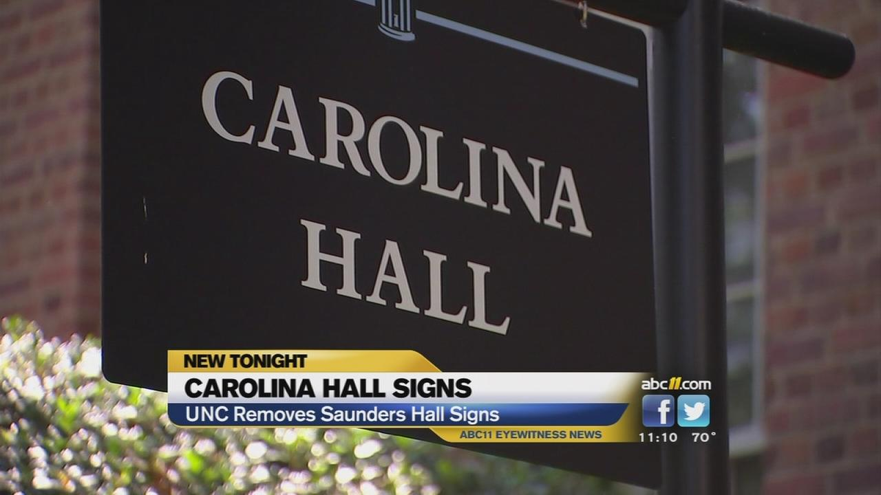 Controversial dorm name at UNC officially changed