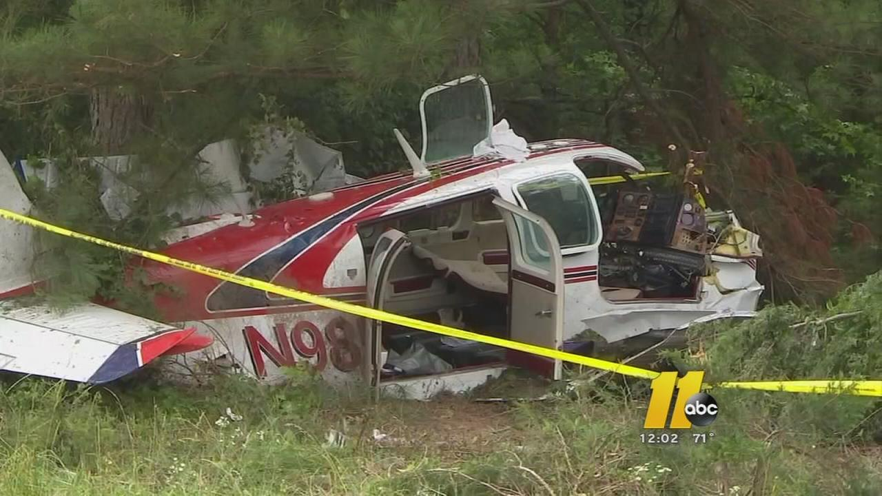 Two hurt in small plane crash near Siler City airport