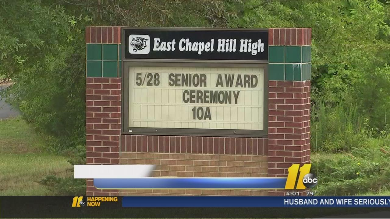 4 students treated after apparent overdoses at East Chapel Hill High School