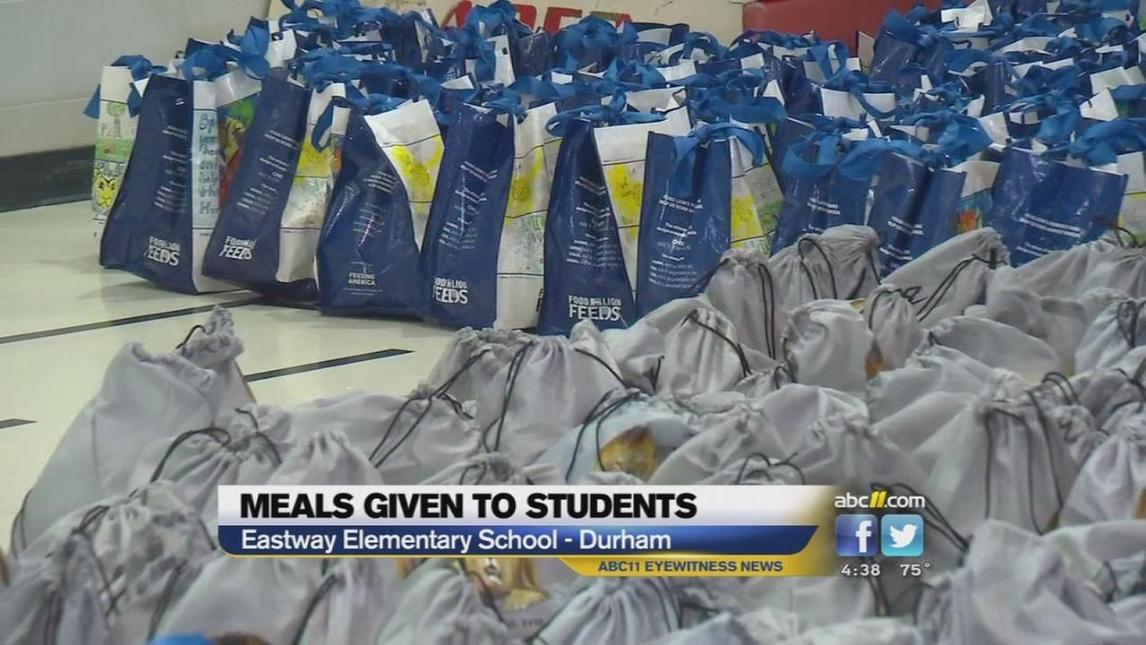 Meals given to students