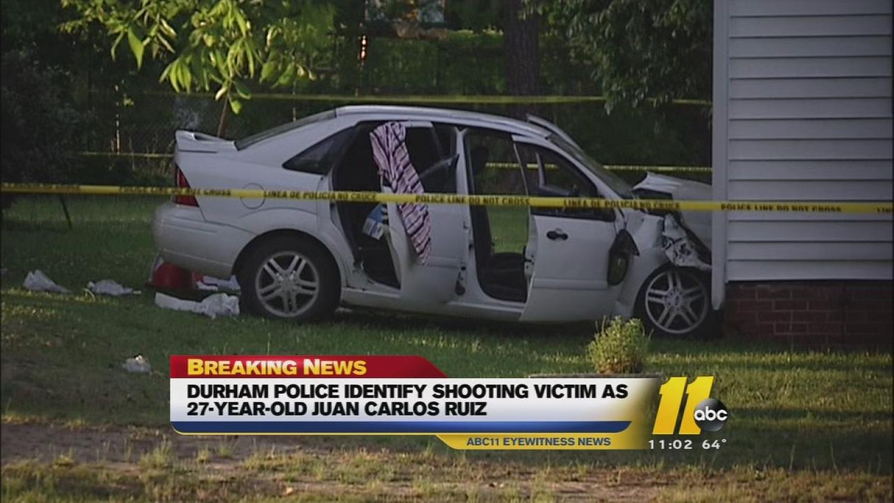 Durham police are searching for suspects in a drive-by shooting that left one man dead.