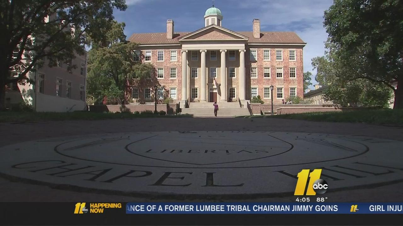 UNC placed on probation