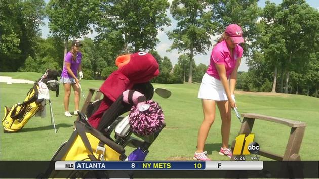 Twins turn heads on the golf course