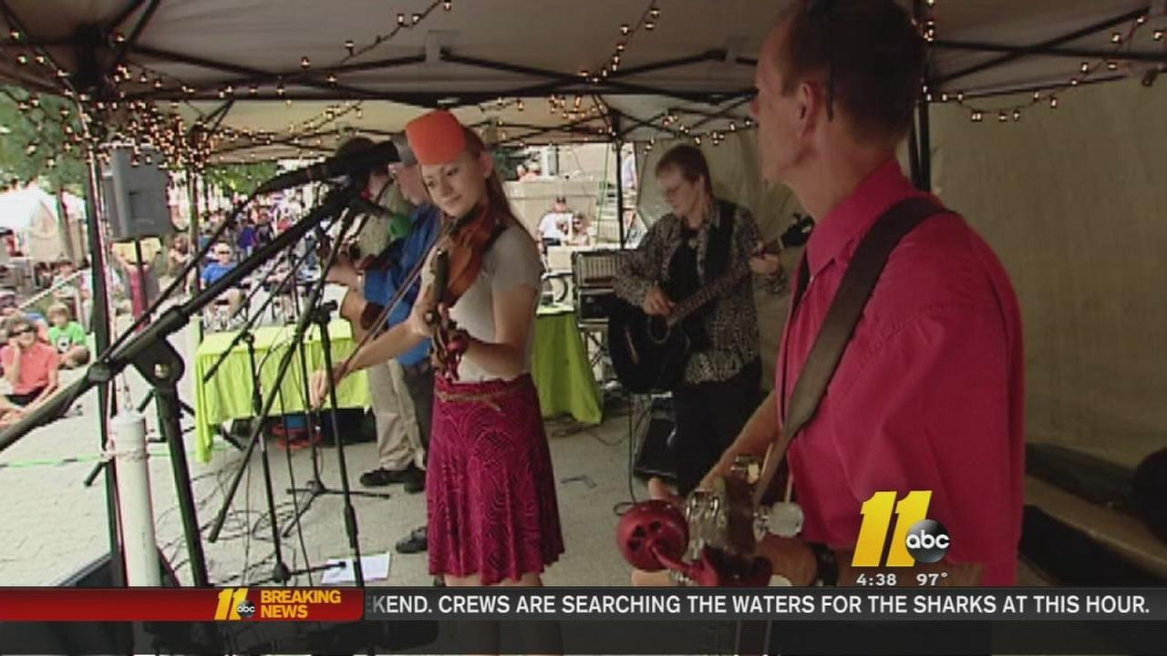 Bluegrass festival brings big business