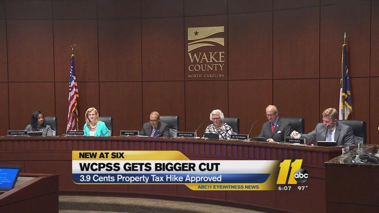 Wake County approved budget