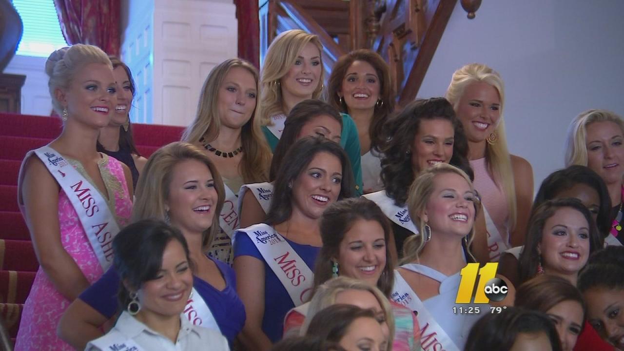 Miss NC hopefuls visit Raleigh