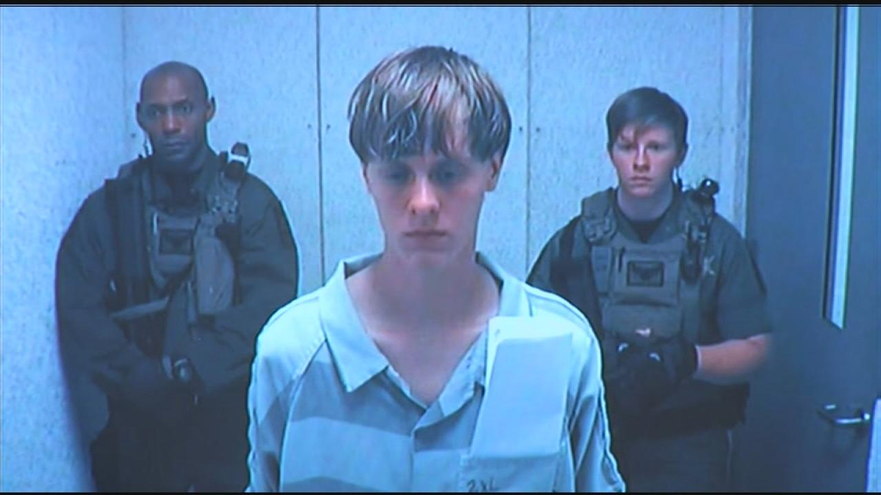 RAW VIDEO: Dylann Storm Roof appears before judge