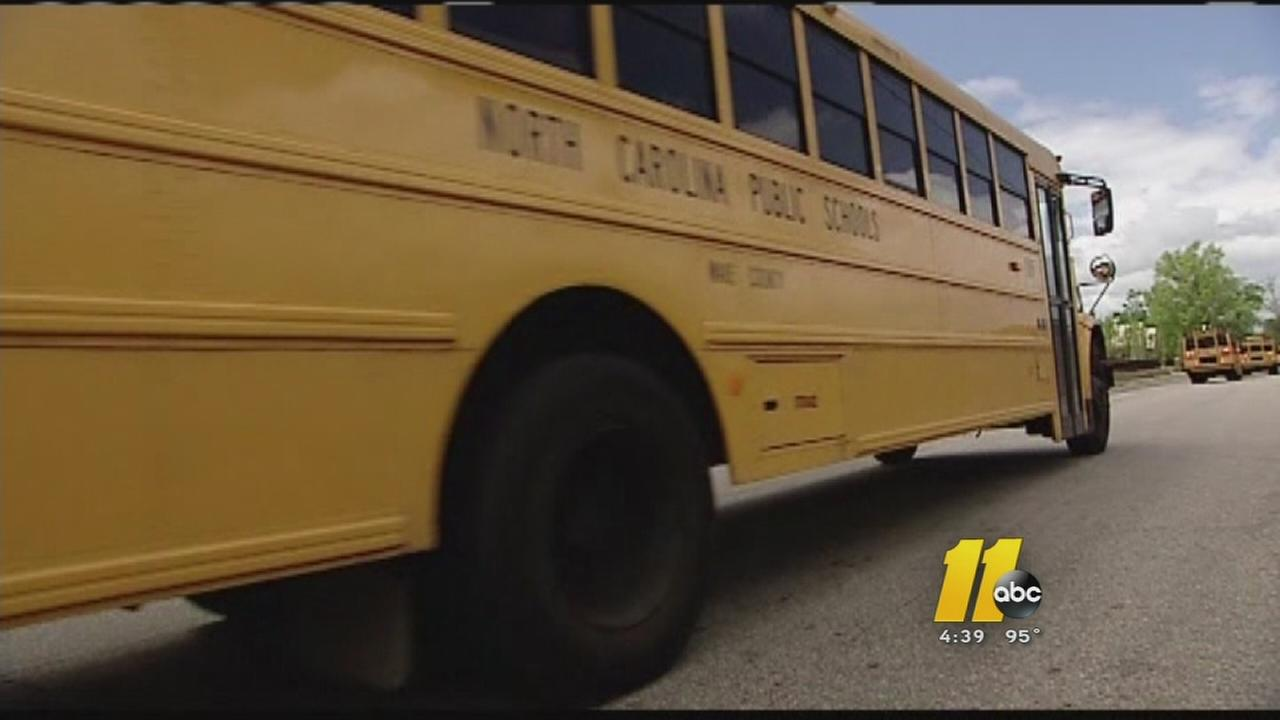 Wake County school bus