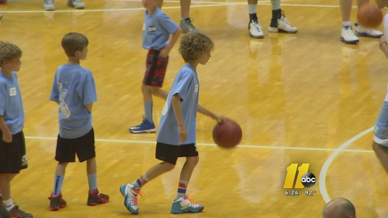 UNC basketball camp