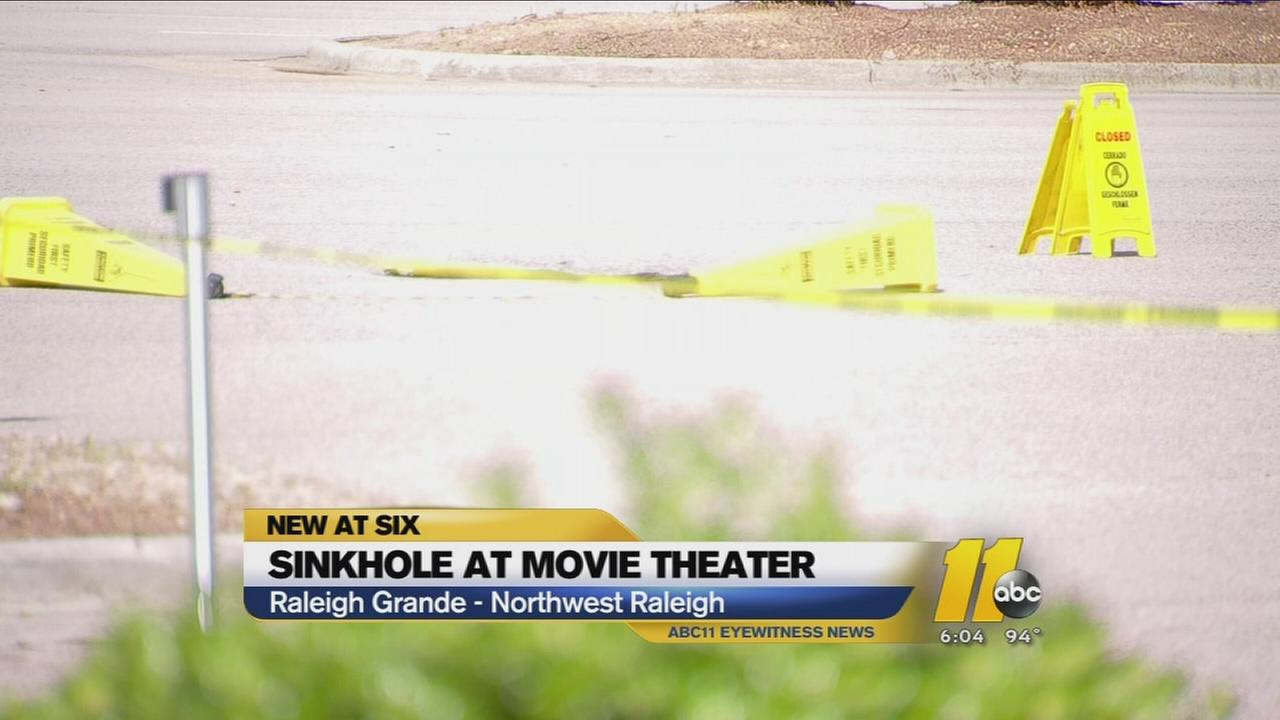 Raleigh sinkhole