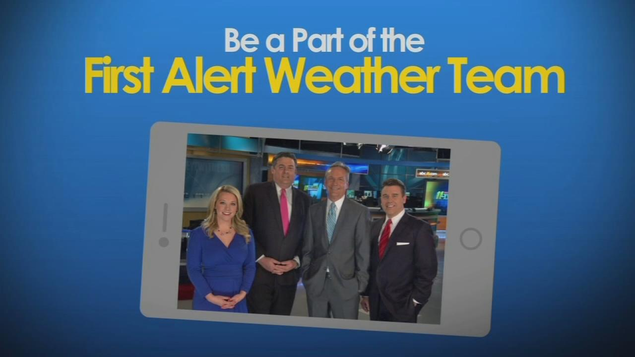 Report your weather with the latest ABC11 First Alert Weather app