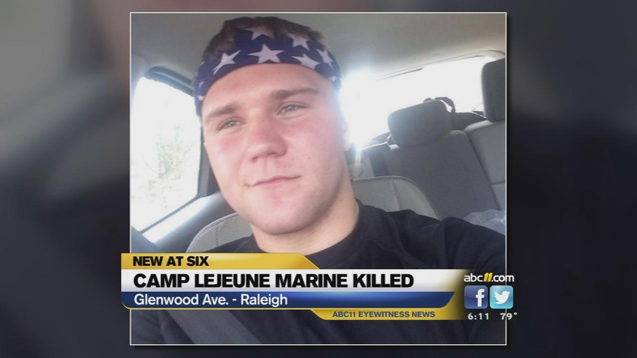 Two charged after marine killed in raleigh hit and run abc11 com