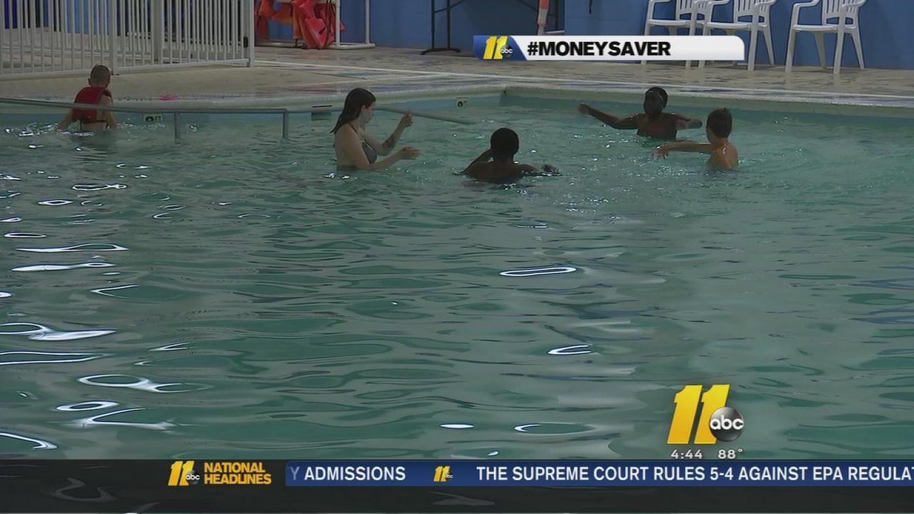 Free swim lessons through USA Swimming program