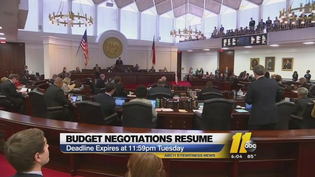 Time to pass a new North Carolina budget is quickly running out