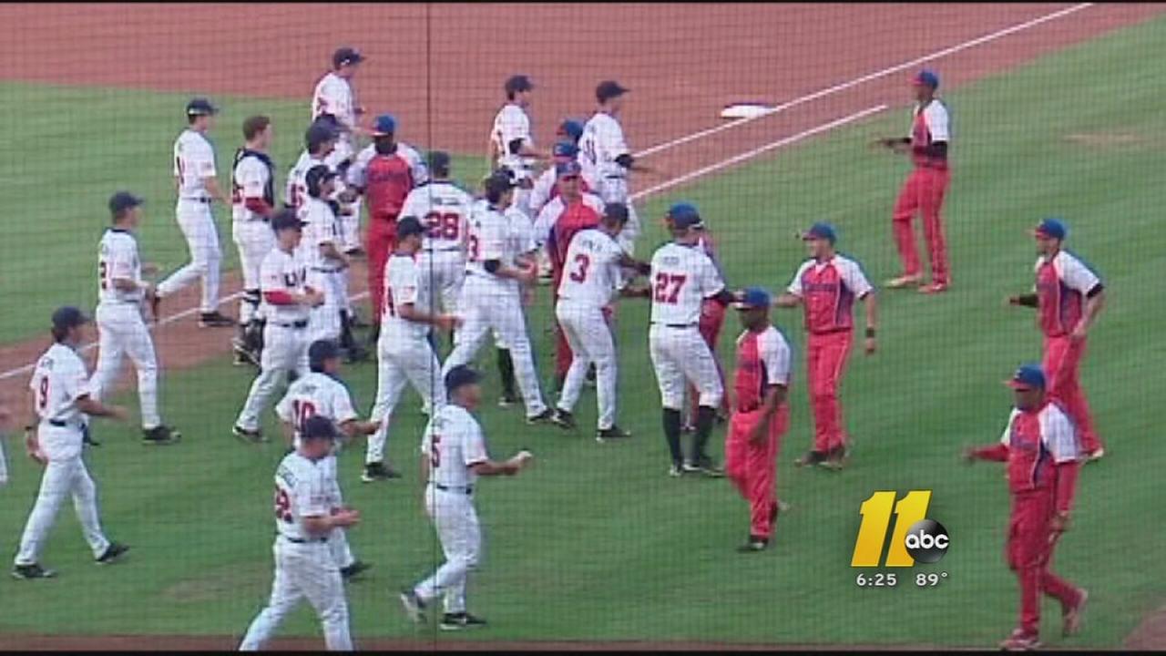USA Baseball versus Cuba